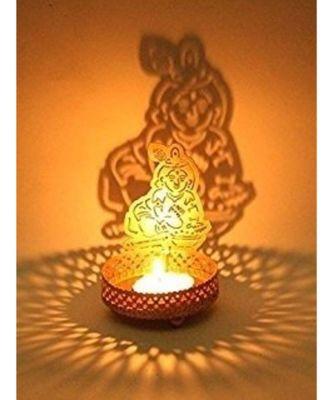 Laddu Gopal Shadow Tealight Candle Holder