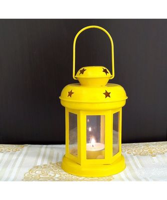Decorative Hanging Tealight Candle Holder Lantern For Indoor outdoor Home Decoration