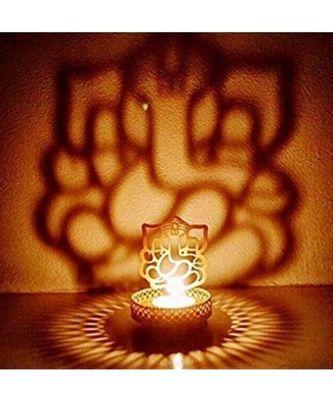 Shadow Ganesh ji  Tealight Candle Holder