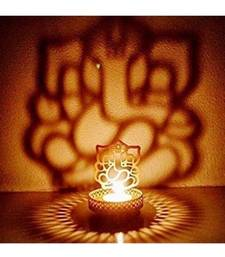 Shadow Ganesh ji  Tealight Candle Holder