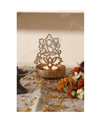 Shadow Laxmi ji Tealight Candle Holder