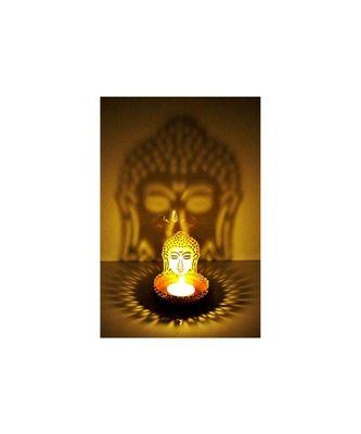 Shadow Buddha  Tealight Candle Holder