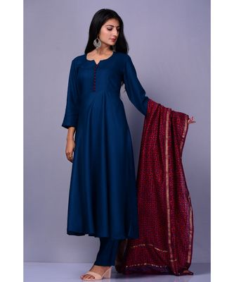 Blue Maisara Suit set