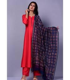 Red Maisara Suit set