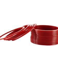 Buy striking bangles Color Red bangles-and-bracelet online
