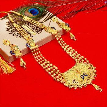 Multicolor cubic zirconia necklace-sets