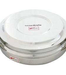 "Kitchen Krafts Spieces Container 11"" (Masala daba) Laser touch"
