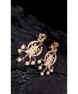 Beautiful designer CZ ear rings
