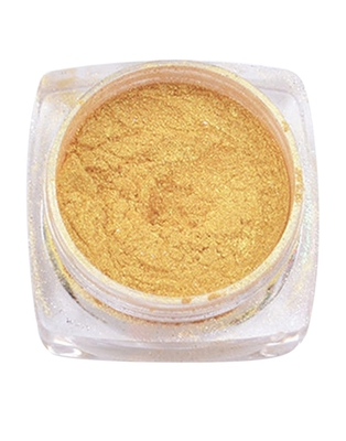 DesiButik Nail Art Chrome Powder Golden