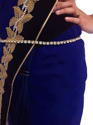 Exclusive diamond studed chained waist belt kamarband belly hips chain