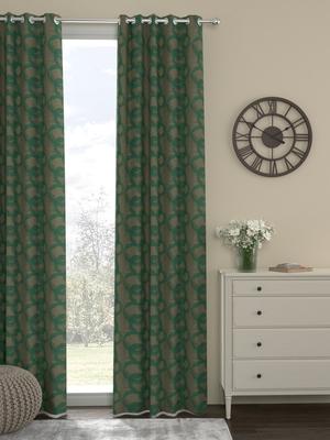 ROSARA HOME Jacquard Pack of Single Door Curtain