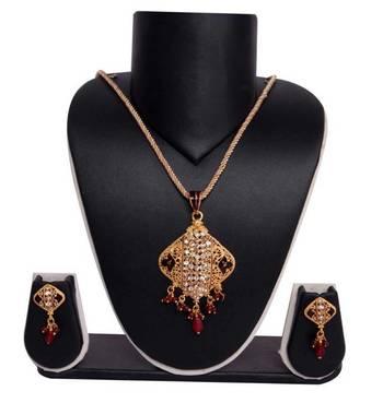 Sukkhi Exotic Gold plated Pendant Set 1008V