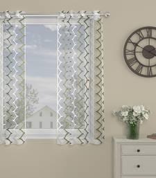 ROSARA HOME Elliott Pack of Single Window Curtain