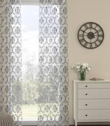ROSARA HOME Ornate Pack of Single Long Door Curtain