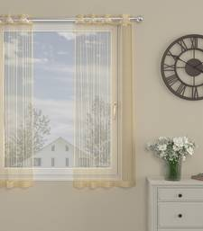 ROSARA HOME  Striped Pack of Single Window Curtain