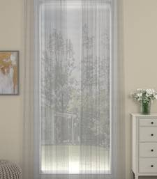 ROSARA HOME  Striped Pack of 2 Door Curtains