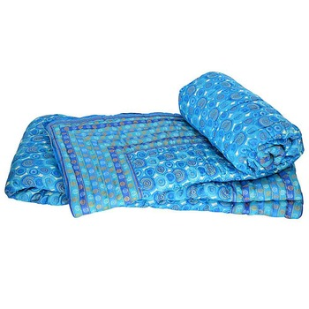 Hand Block Printed Cotton Double Bed Quilts