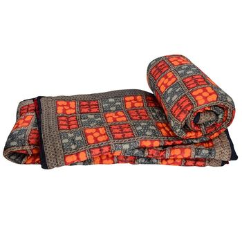 Jaipuri Hand Block Cotton Double Bed Quilts