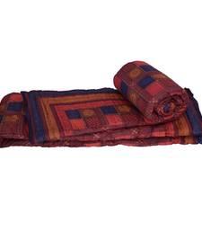 Jaipuri Style Bagru Cotton Single Bed Quilts