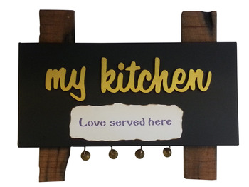 Kitchen Name Plate