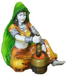 Rajasthani Lady Making Mirchi