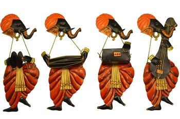 Band of Ganesha DholakVeena Rebec + Harmonium