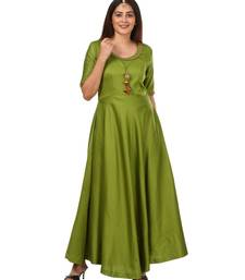 Green Floor Length Kurti