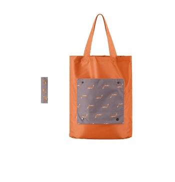 Shree Shyam Product Orange 1 Pc Tote Bag Fashionable Grocery Bag & Reusable Foldable Shopping Bag for Unisex