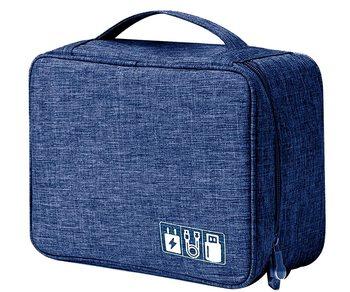 Shree Shyam Product Blue 1Pcs Electronics & Gadget Accessory Travel Storage Organizer Carry Bag for Unisex