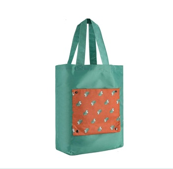 Shree Shyam Product Green 1 Pc Tote Bag Fashionable Grocery Bag & Reusable Foldable Shopping Bag for Unisex
