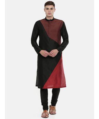Mayank Modi The Trio Cotton Silk Kurta Set