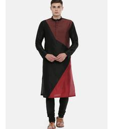 Mayank Modi The Trio Cotton Silk Kurta Set