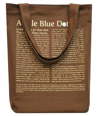Clean Planet Wise Tote Pale Blue Dot