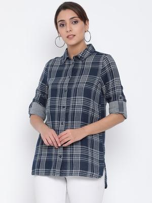 Plaid Monarch Women Shirt