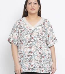 Blossom Repeat Plus Size Women Top