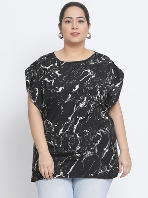 Graphic Heights Plus Size Women Top