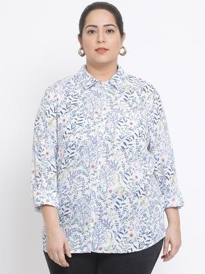 Blossom Farar Plus Size Women Shirt
