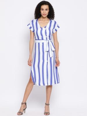 Stripe Beauty Chic Women Dress