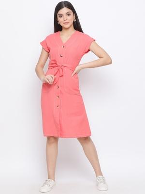 Bella Neuro Young Women Linen Shirt Dress