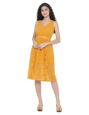 Sunshine Dorothy Sheer A-Line Dress