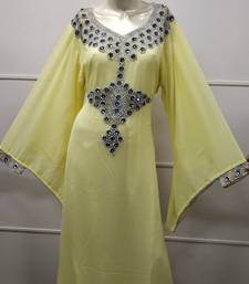 MOROCCAN EVENING GOWN MAXI DRESS FARASHA CAFTAN JALABIYA JILBAB ARABIC