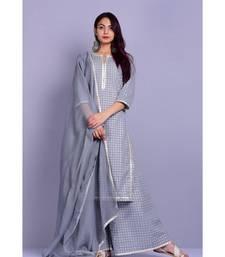 Grey and White Garara Set