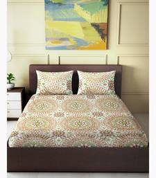 "Orchestra Printed Double Bedsheet ( 90"" x 100"" )"