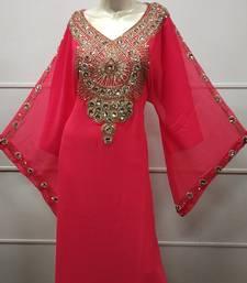 DUBAI ARABIC FARASHA MAXI DRESS TEA PARTY EVENING GOWN JALABIYA KAFTAN ROBE JILBAB