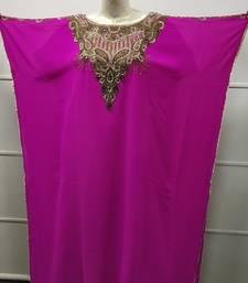 HENNA PARTY GOWN JASMINE DESIGNER FARASHA AZTEC BOHO KHALEEJI THOBE DRESS