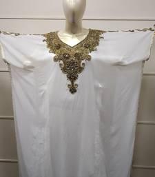 KURDISH DRESS CRYSTAL LUXE DUBAI GOWN KAFTAN TRADITIONAL ARABIC ABAYA