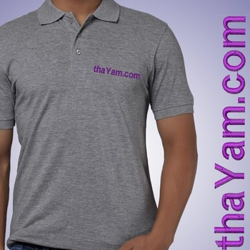 Your Name On Your Mens Custom Polo T-shirt at Offer, Men's Collar T shirt