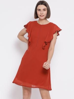 Cornary Cherry Chic Women Dress