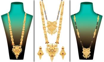 Multicolor jewellery-combo
