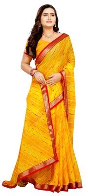 chitrakshi leheriya saree with blouse